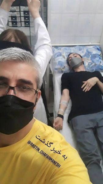 پسر بازیگر مشهور راهی بیمارستان شد + عکس