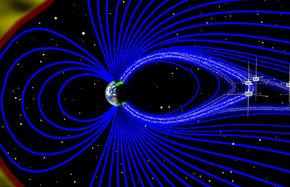 چرا میدان مغناطیسی زمین به سمت غرب متمایل میشود؟