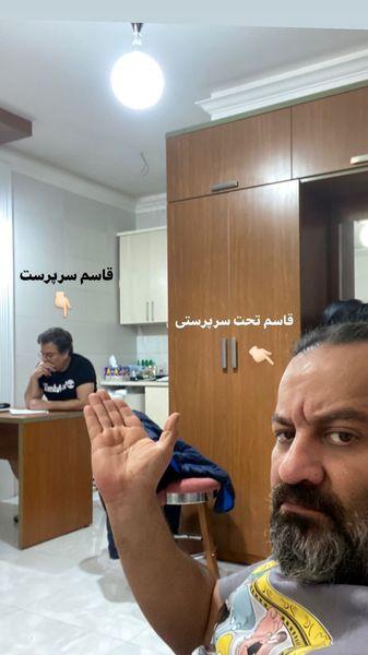 برادران قاسم خانی در حال کار + عکس