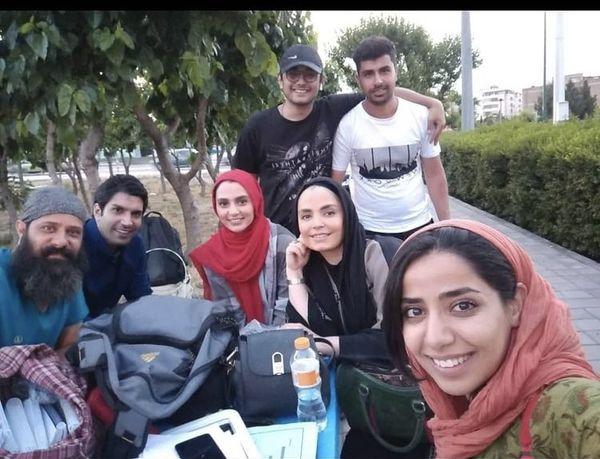 سپیده خداوردی در جمع خانه امنی ها + عکس