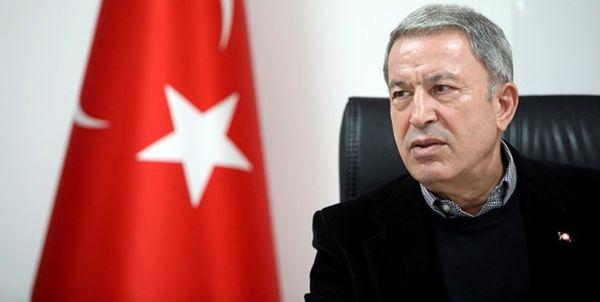 گفت و گو وزیران دفاع ترکیه و اسپانیا