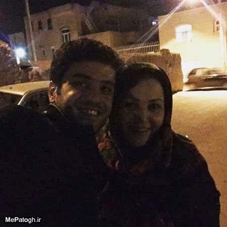 عکس بامزه علی ضیا و مادرش