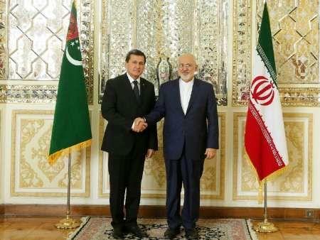 وزیران خارجه ایران و ترکمنستان دیدار کردند