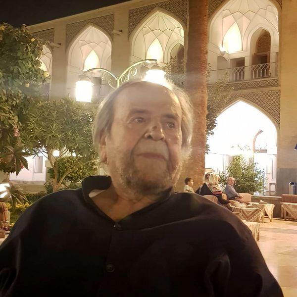 سفر محمدعلی کشاورز به سرزمین هنر ایران+عکس