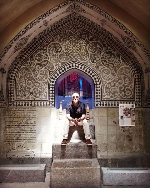 امیر کربلایی زاده در اصفهان + عکس