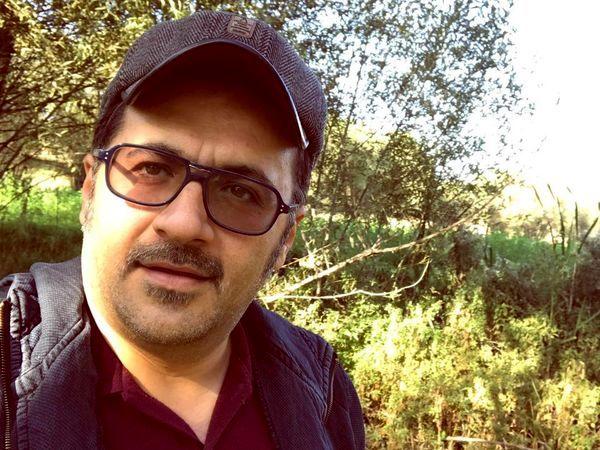 شهرام عبدلی در دل طبیعت + عکس