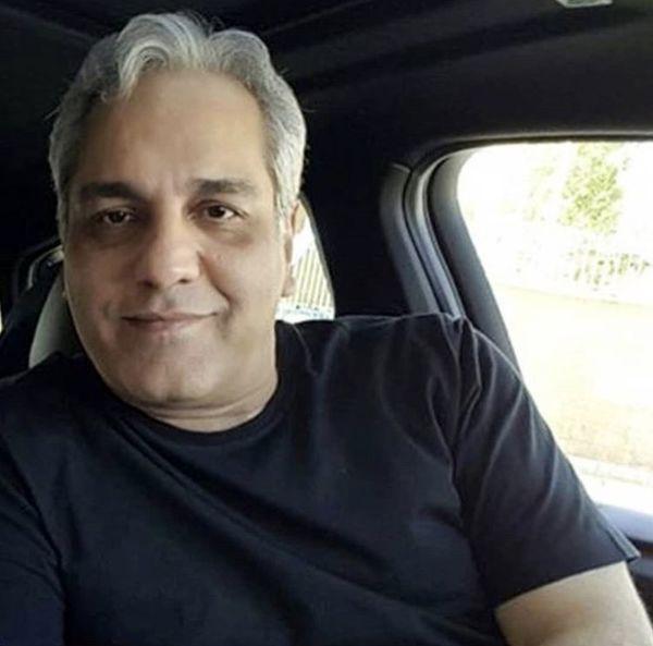 مهران مدیری در ماشین لاکچریش + عکس