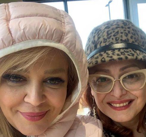 گردش بهاره رهنما و خواهرش در کانادا+عکس