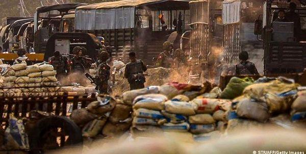 13 نیروی امنیتی میانمار کشته شدند