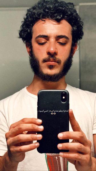 موهای آشفته طور علی شادمان + عکس