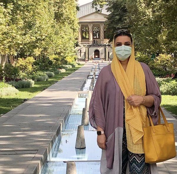 الهام پاوه نژاد در شیراز + عکس