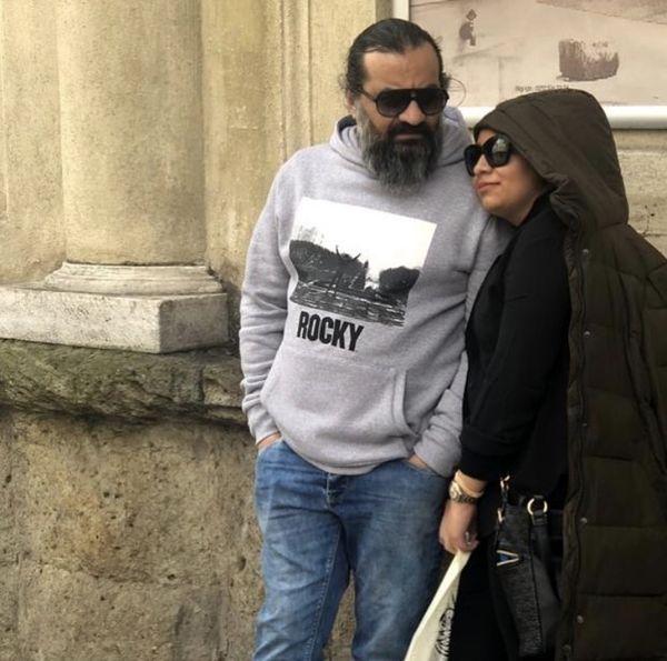 مهراب قلسم خانی و دخترش + عکس
