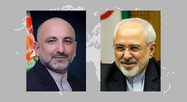 گفتگوی وزیران خارجه ایران و افغانستان درباره حادثه مرزی