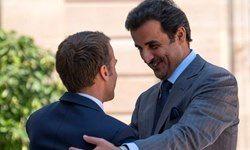 جزئیات مذاکرات امیر قطر با ماکرون فاش شد