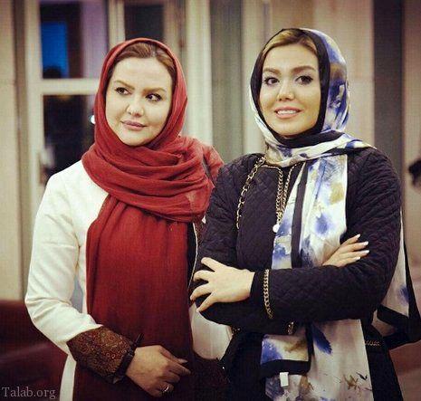 خانم مجری و خواهرش+عکس