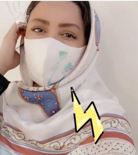 ماسک جدید شیلا خداداد + عکس