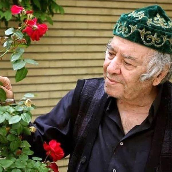 عکس پدر علی مصفا در صفحه مرجان شیرمحمدی