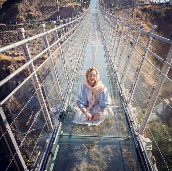 شبنم قلی خانی روی پلی ترسناک + عکس