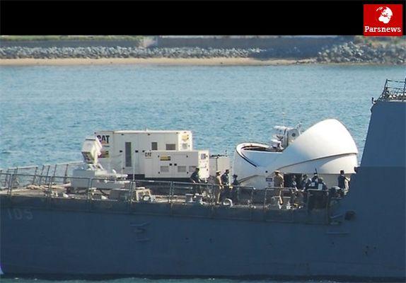 آمریکادرامتدادسواحل ایران سامانه پدافند لیزری مستقر میکند+عکس