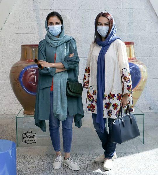 خواهران فرجاد  در یک مراسم + عکس