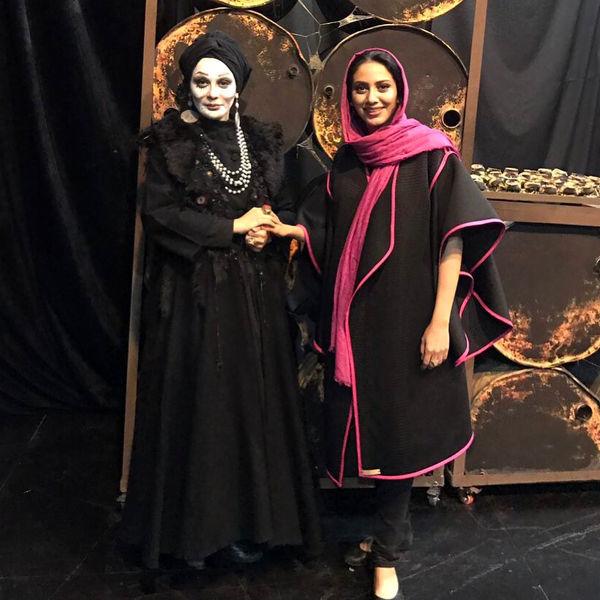 قیافه کاملا متفاوت خواهران فرجاد+عکس
