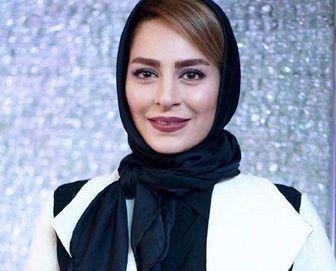 چهره خندان تازه عروس سینمای ایران/ عکس