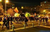 تجمع اعتراضی در «میدان پاریس» علیه نتانیاهو