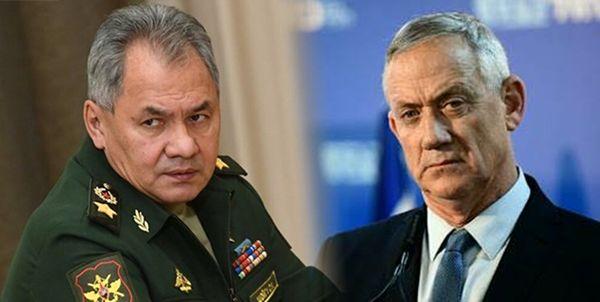 گفتوگو تلفنی وزیر جنگ اسرائیل با وزیر دفاع روسیه