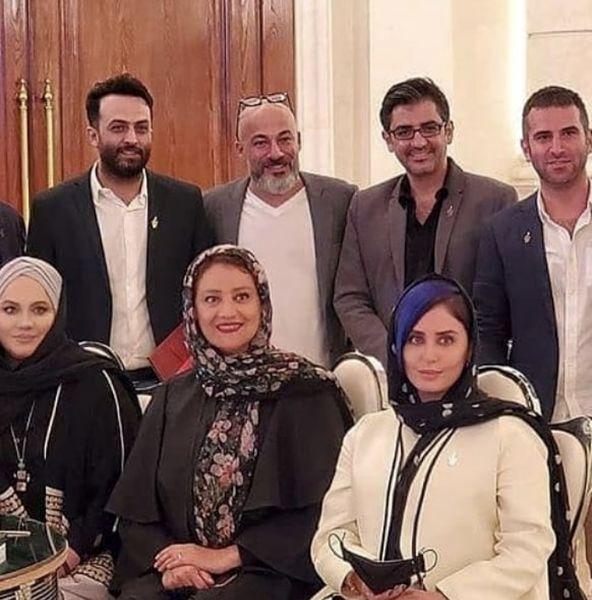 دورهمی بازیگران پس از جشن حافظ + عکس