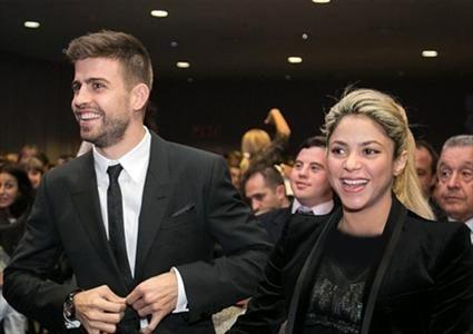 راه اندازی تیم فوتبال خانوادگی شکیرا و همسرش!