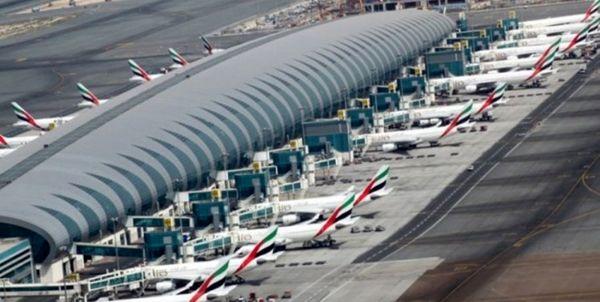 کاهش چشمگیر مسافران فرودگاه دبی در 2020