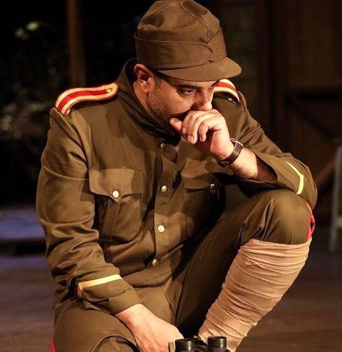 عکس سربازی برزو ارجمند