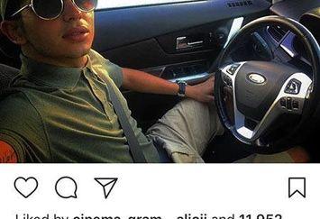 ارسلان قاسمی و ماشین فوق لاکچری اش+عکس