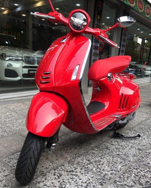 آشنایی با موتورسیکلت 200 میلیونی وسپا در ایران