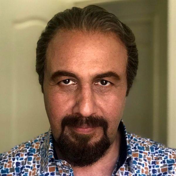 گریم رضا عطاران در فیلم سینمایی جدیدش + عکس