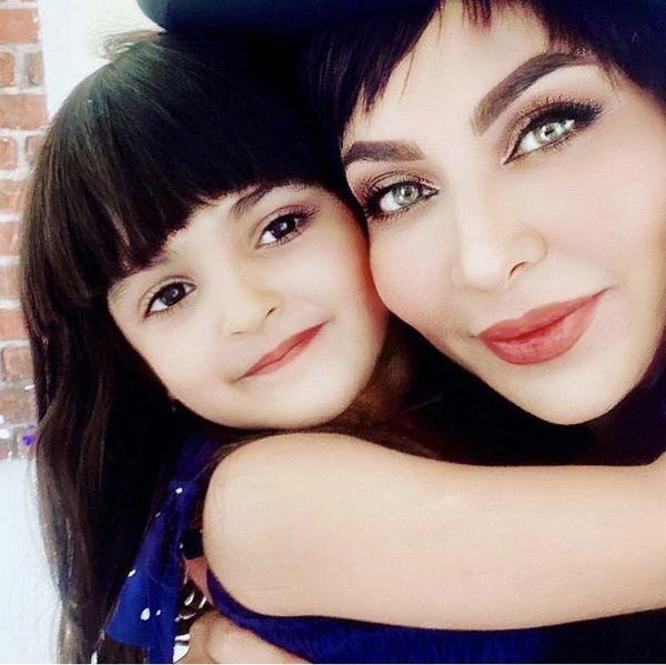 شباهت فقیهه سلطانی و دخترش + عکس