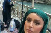 نعیمه نظام دوست و مادرش در گردش + عکس