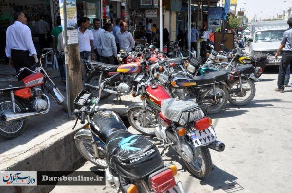 برخورد پلیس با موتورسیکلت های سنگین بدون مجوز