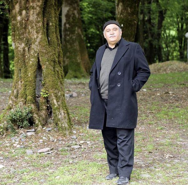 استایل نادر سلیمانی در جنگل + عکس