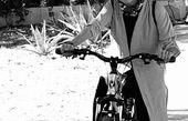 استایل دوچرخه سواری پرستو گلستانی + عکس