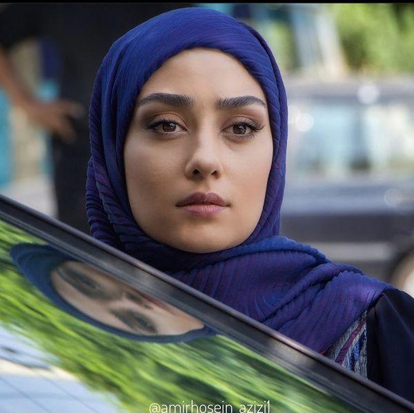 الهام طهموری در سریال شرم + عکس