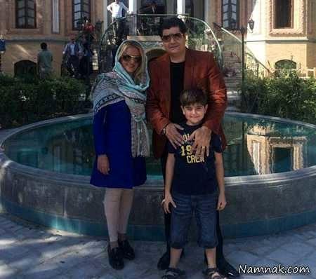 سالار عقیلی و همسر و پسر هنرمندش+عکس