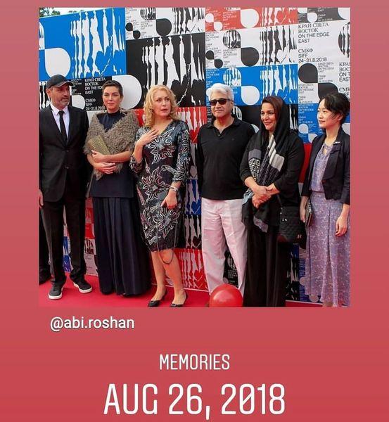 تهمینه میلانی در جشنواره ساخالین روسیه+عکس