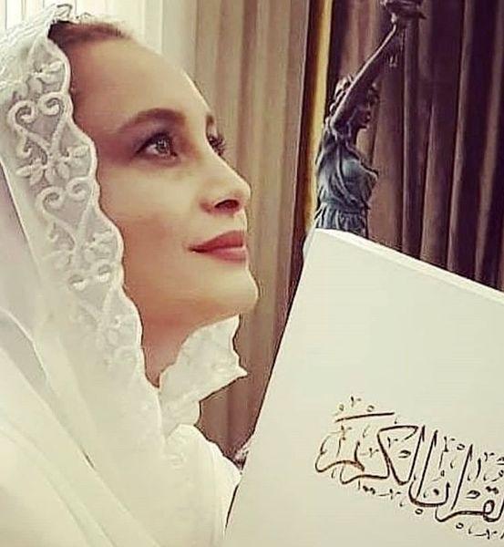 مریم کاویانی در لباس عروس + عکس