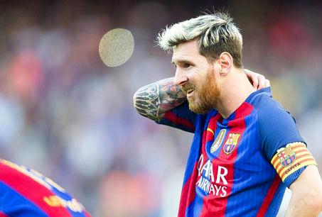 خاطرات خوب لیونل مسی و بارسلونا از لیون