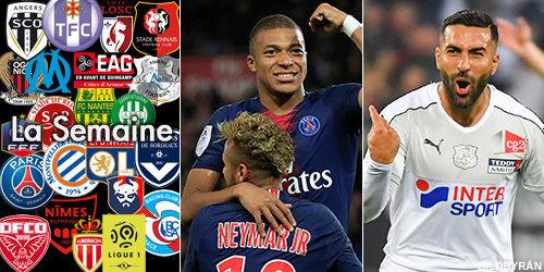 قدوس و امباپه در بین بهترینهای هفته لیگ فرانسه