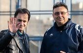 خداحافظی دکتر نوروزی و ستوده با استقلال
