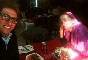 رستوران گردی آقای کارگردان و خانم بازیگر+عکس