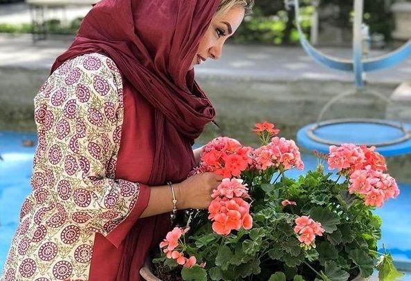 عکس زیبای همسر برزو ارجمند