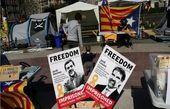 ۲ نفر از سران جداییطلب کاتالونیا دست به اعتصاب غذا زدند